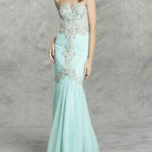 Aspeed Design mermaid gown
